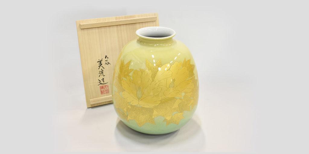 吉田美統(よしだみのり)製作による、花瓶の画像
