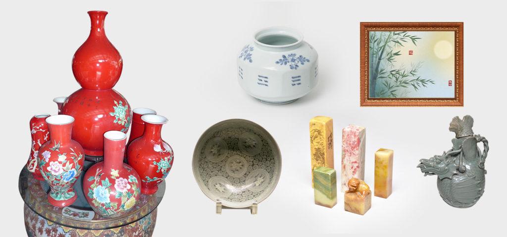 代表的な中国美術のイメージ