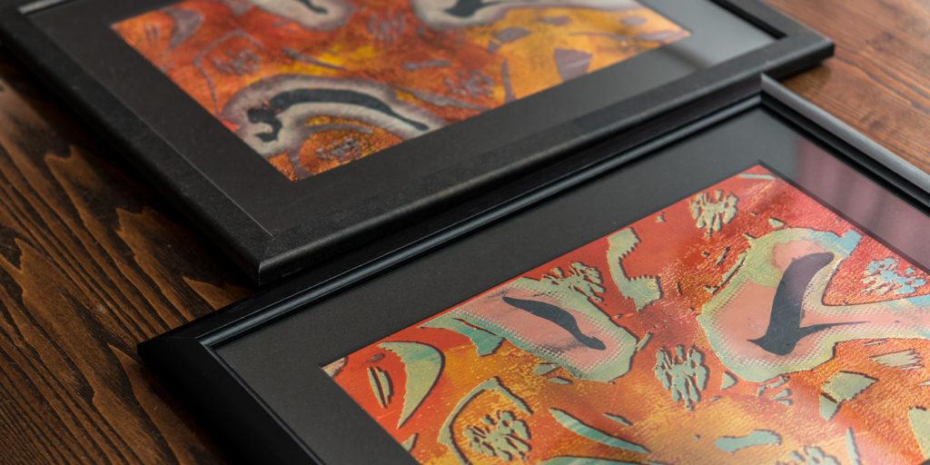 絵画の保存状態のイメージ