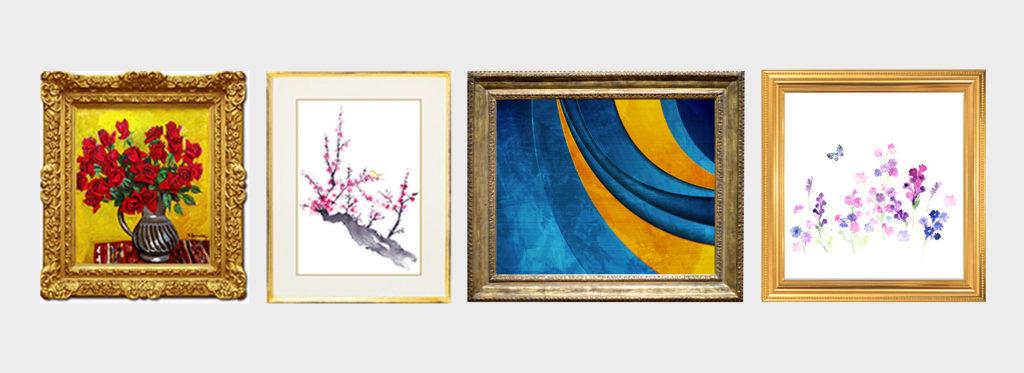 様々な絵画の種類