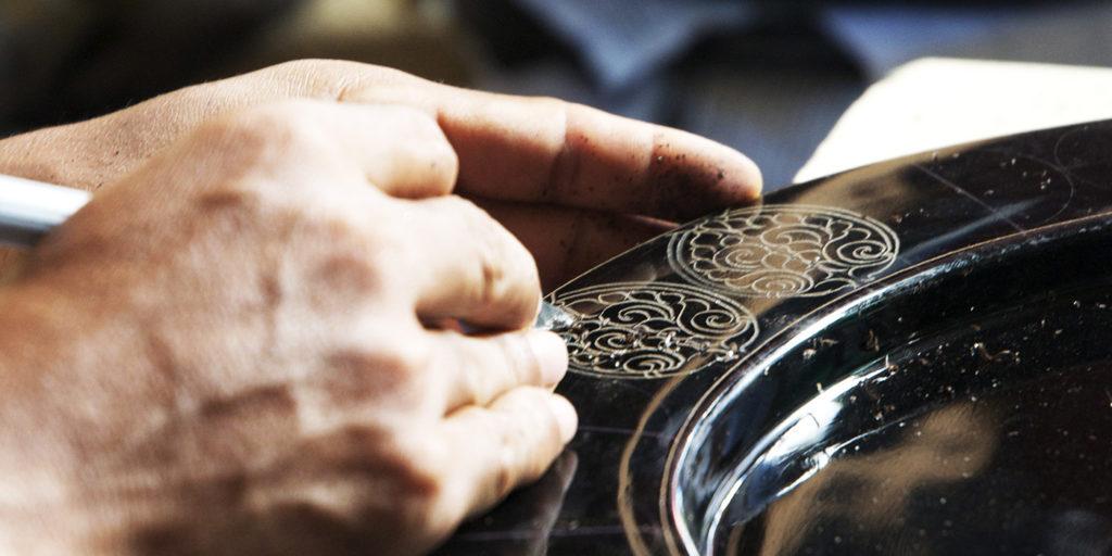 漆器職人のイメージ