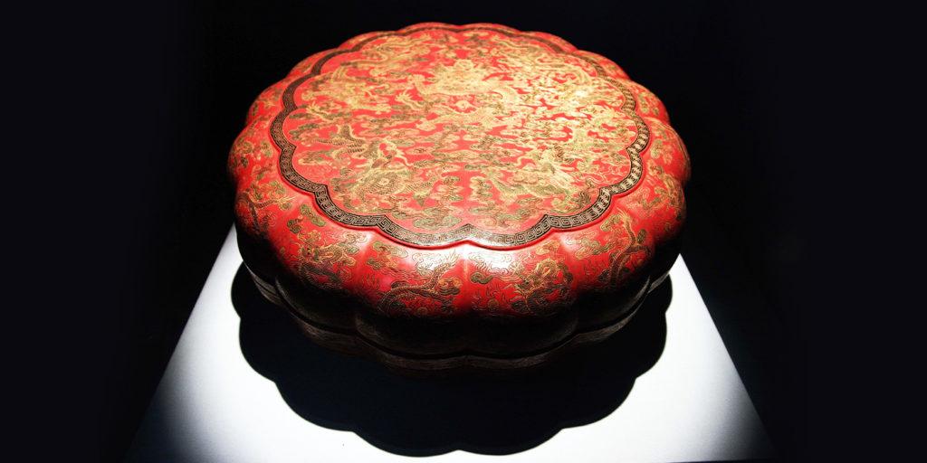 中国漆器のイメージ